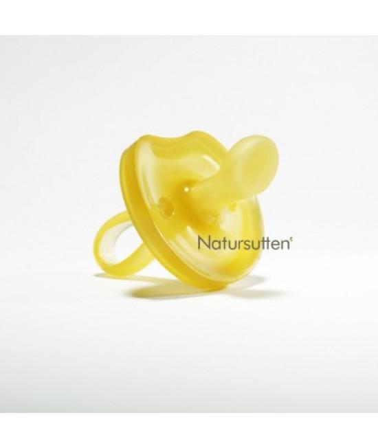 """Suzetă """"fluture"""" din cauciuc natural Natursutten - ortodontică"""