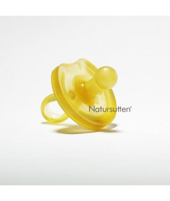 """Suzetă """"fluture"""" din cauciuc natural Natursutten - rotundă"""