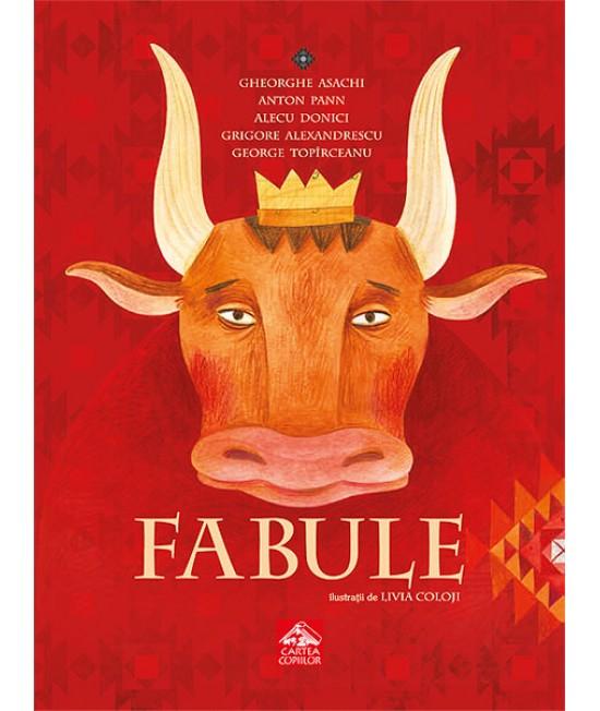 Fabule - Antologie ilustrată de Livia Coloji
