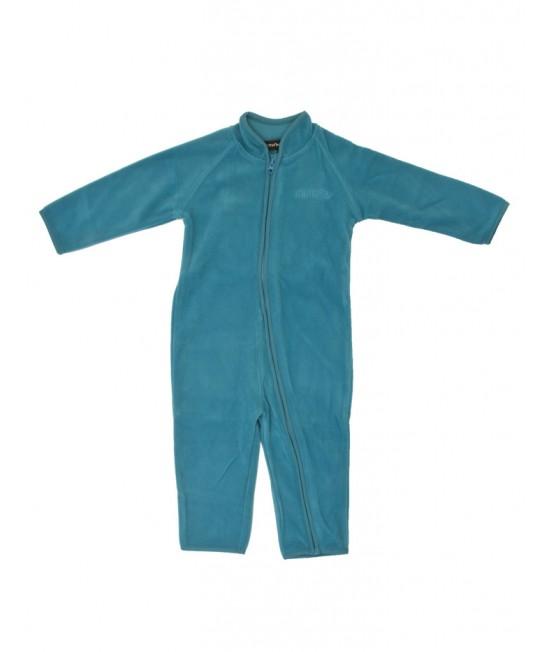 Costum călduros din fleece Minymo - albastru