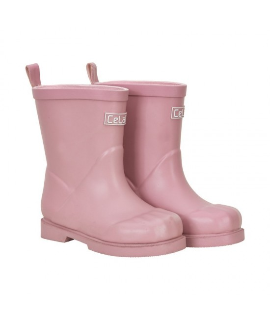 Cizme CeLaVi din cauciuc natural New Style - roz