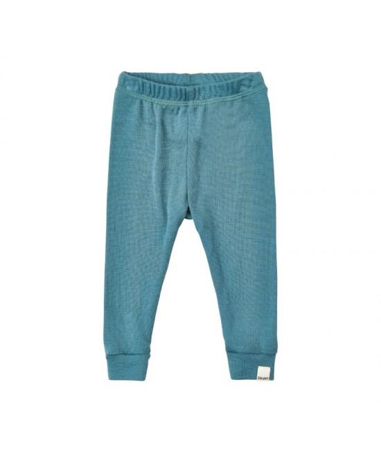 Pantaloni din lână Merinos CeLaVi - albastru