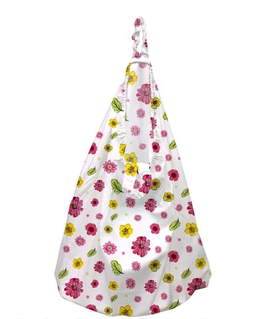 Sac mare pentru scutecele lavabile (wet bag) Charlie Banana -  Blooms