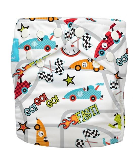 Scutec textil refolosibil Charlie Banana Race Car