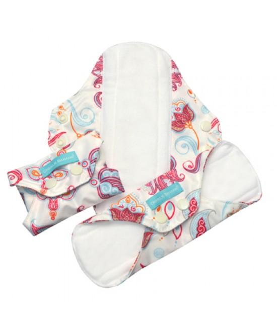Set 3 absorbante intime feminine lavabile Charlie Banana Cotton Bliss - Regular