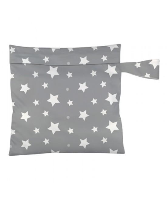 Gentuță impermeabilă - wet bag Charlie Banana Twinkle Little Star White