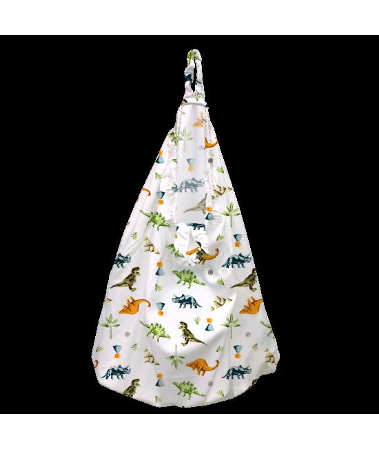 Sac mare pentru scutecele lavabile (wet bag) Charlie Banana Dinosaurs