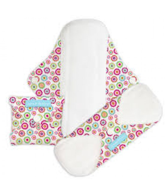 Set 3 absorbante intime feminine lavabile Charlie Banana Wonderland - Regular