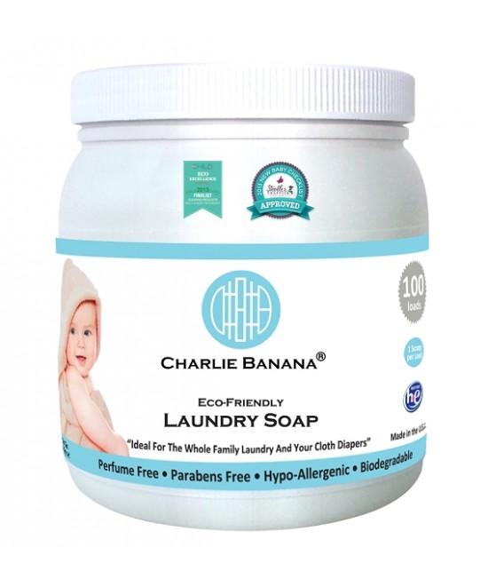 Detergent special pentru rufe și scutece textile Charlie Banana