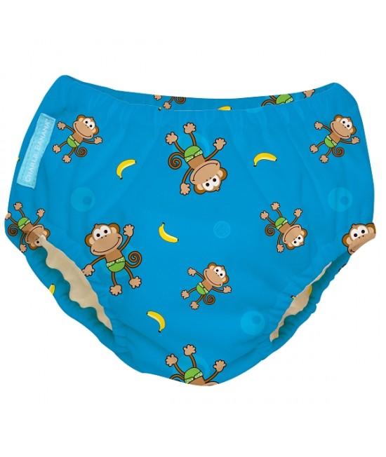 Scutec refolosibil de înot Charlie Banana - chiloți de antrenament pentru oliță - 2 în 1 (Monkey)