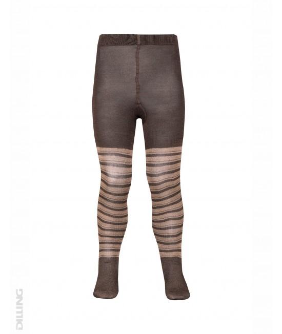 Ciorapi roz din lână Merinos organică Dilling Underwear pentru copii