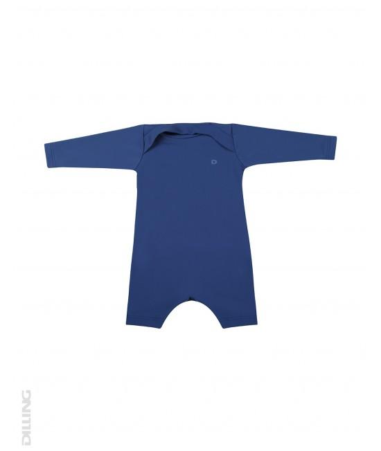 Salopetă albastră pentru bebeluși - cu filtru UV UPF 50+ pentru protecție solară Dilling Underwear