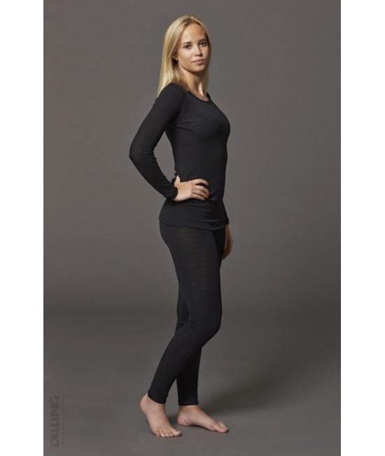 Pantaloni (leggings, colanți) din lână Merinos organică Dilling Underwear pentru femei