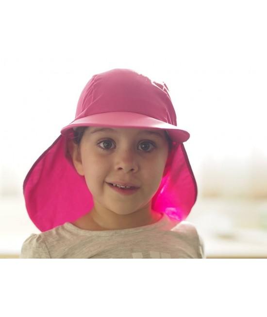 Pălărie pentru copii cu filtru UV pentru protecție solară Dilling Underwear - roz