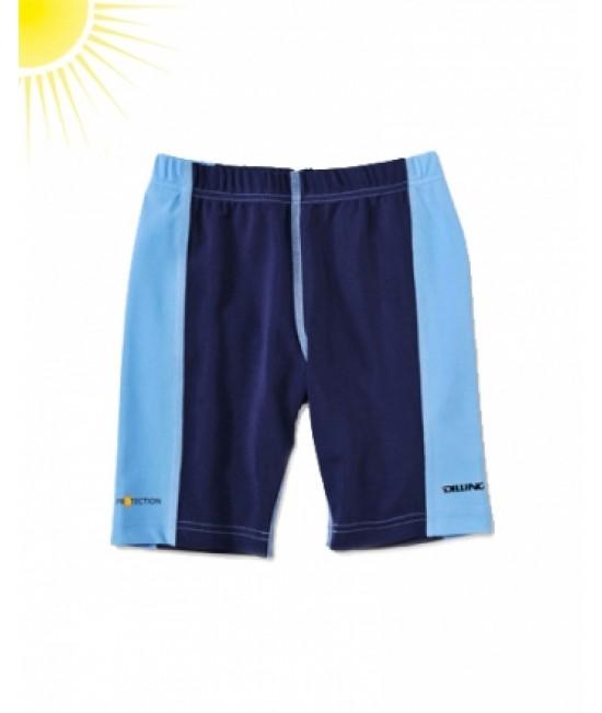 Pantaloni scurți albaștri pentru copii - cu filtru UV pentru protecție solară Dilling Underwear