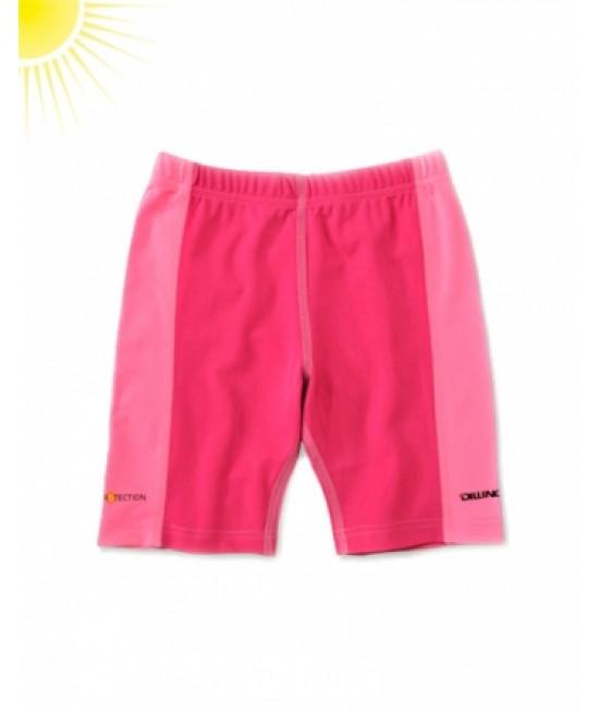 Pantaloni scurți roz pentru copii - cu filtru UV pentru protecție solară Dilling Underwear