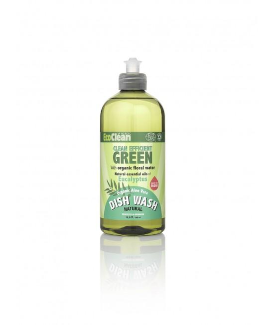 Detergent BIO pentru vase EcoClean Nordic - cu eucalipt - 500 ml