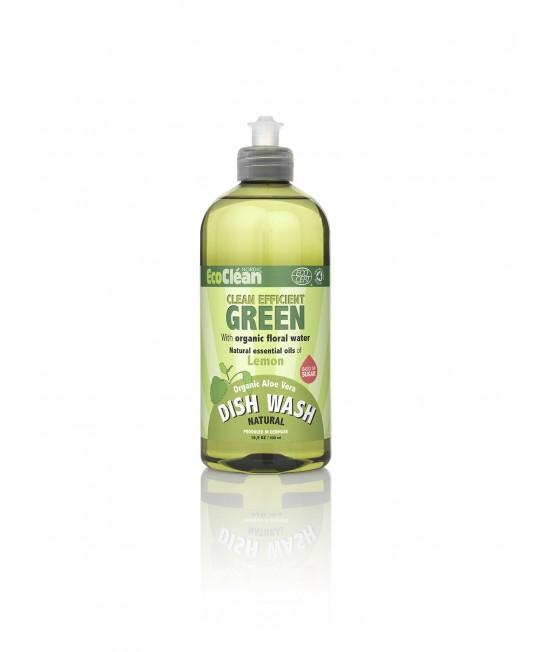 Detergent BIO pentru vase EcoClean Nordic - cu lămâie - 500 ml
