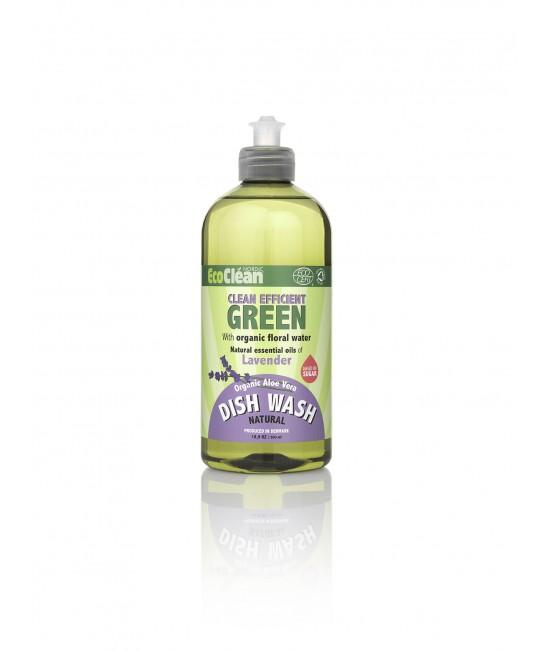 Detergent BIO pentru vase EcoClean Nordic - cu lavandă - 500 ml