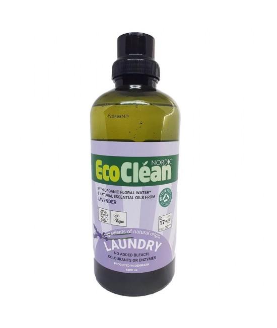 Detergent BIO pentru haine EcoClean Nordic - cu lavandă - 1L - 17 spălări