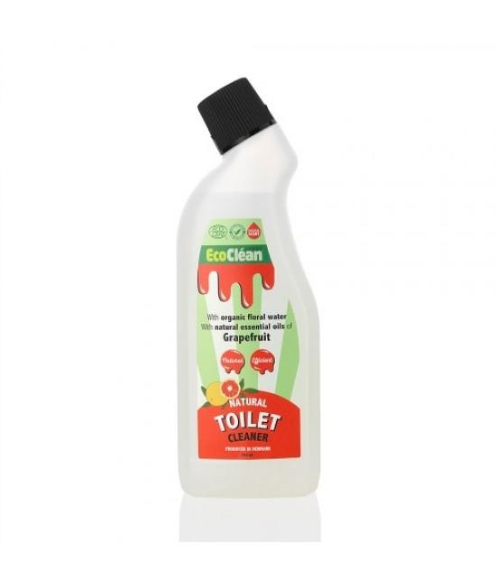 Detergent BIO pentru toaletă EcoClean Nordic - cu grapefruit - 750 ml