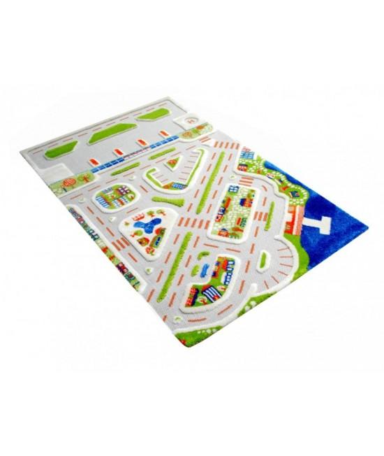 Covor de joacă pentru copii 3D - IVI MiniCity 100 x 150