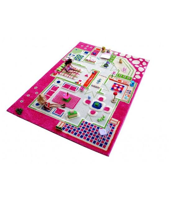 Covor de joacă pentru copii 3D - IVI Playhouse 100 x 150
