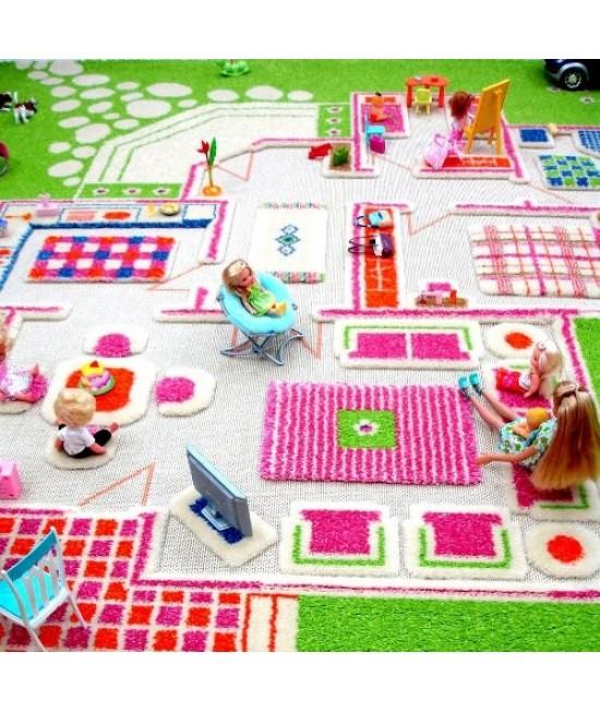 Covor de joacă pentru copii 3D - IVI Playhouse 100 x 200