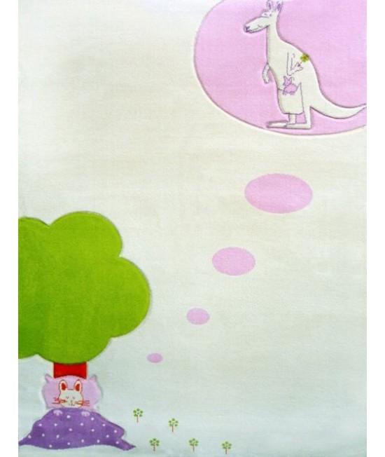 Covor de joacă pentru copii 3D - IVI Sweet Dreams in Cream 100 x 150
