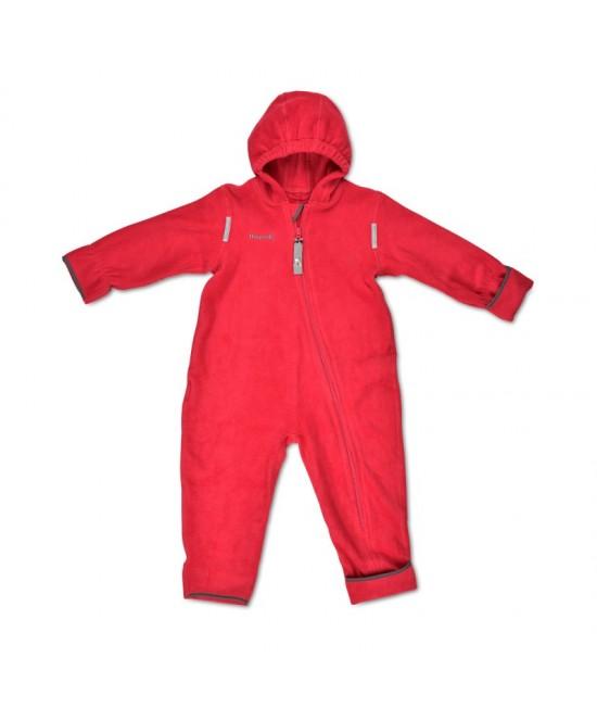Salopetă overall din polar Hoppediz Red (roșie)