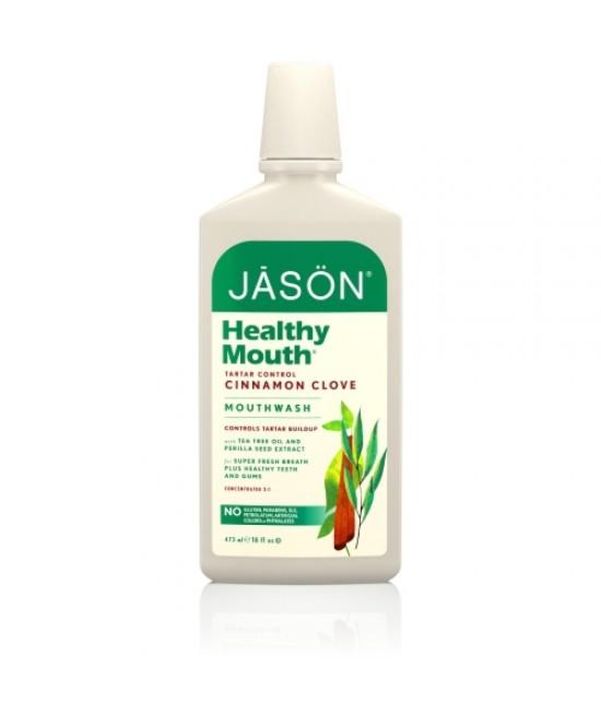 Apă de gură BIO Jason Healthy Mouth - pentru gingii iritate - 473ml