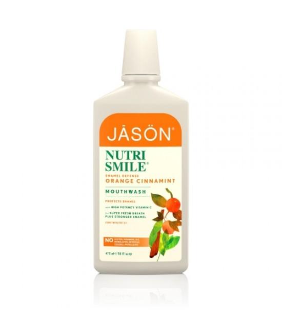 Apă de gură BIO Jason Nutri Smile - pentru prevenirea tartrului și a cariilor
