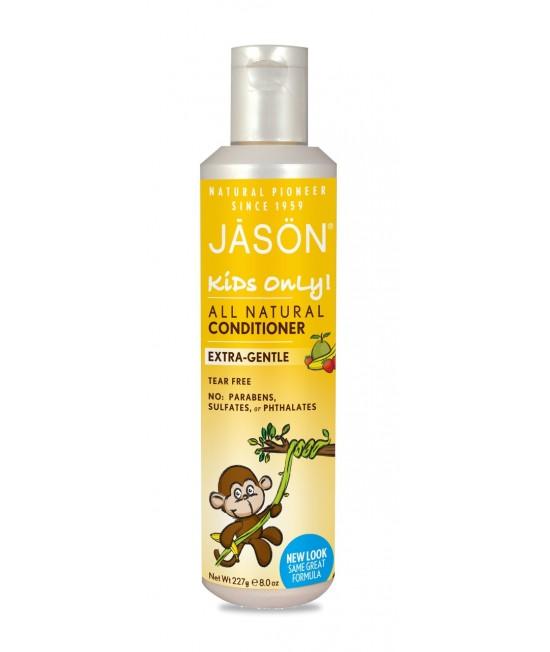 Balsam de păr natural Jason cu banane și căpșuni pentru copii - 260 gr