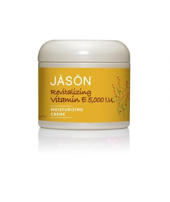 Cremă de față hidratantă anti-rid Jason cu vitamina E