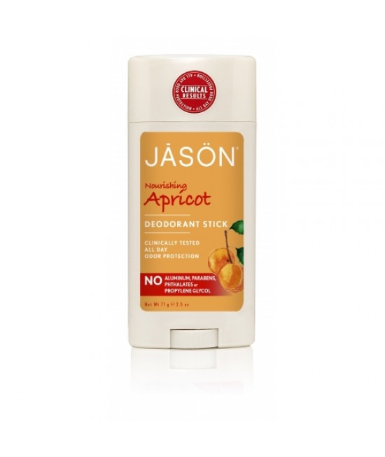 Deodorant stick BIO Jason cu caise