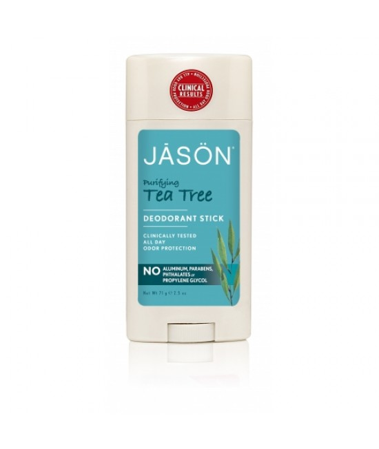 Deodorant stick BIO Jason cu tea tree - antibacterian