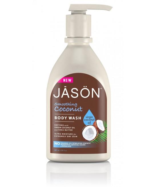 Gel de duș cremos BIO Jason cu ulei de cocos