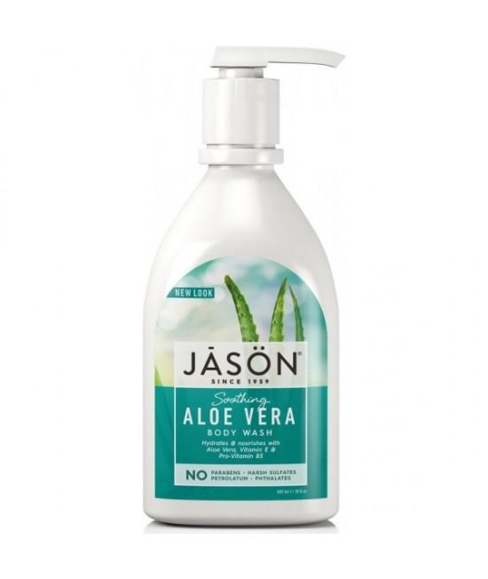 Gel de duș natural hidratant JASON cu aloe vera - 887 ml