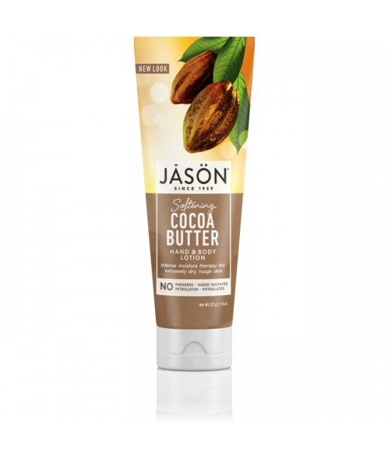 Loțiune BIO  hidratantă cu unt de cacao pentru mâini și pentru corp JASON - 227 grame