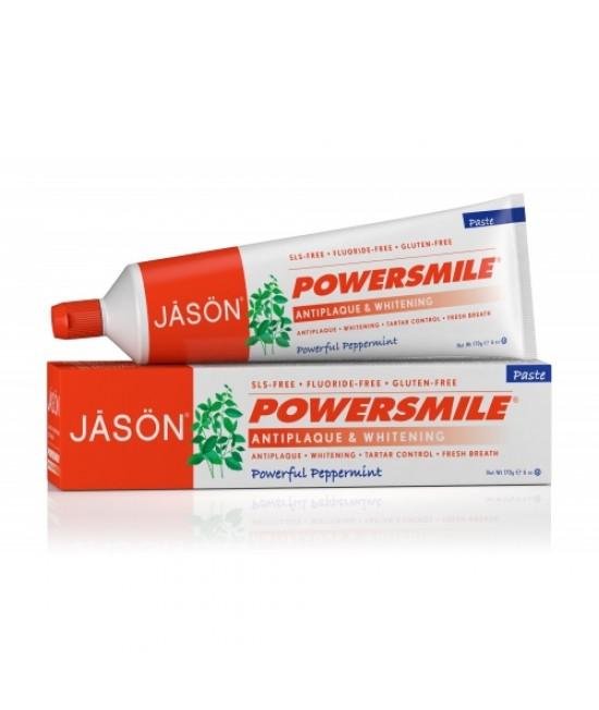 Pastă de dinți Jason Power Smile fără fluor - pentru albirea dinților