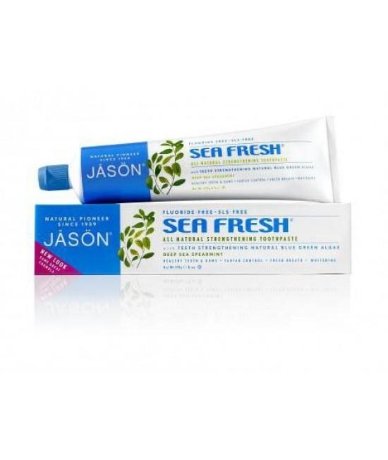 Pastă de dinți Jason Sea Fresh fără fluor - pentru întărirea dinților