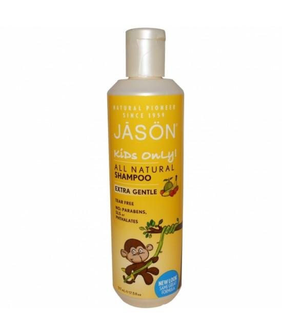 Șampon natural Jason cu banane și căpșuni pentru copii