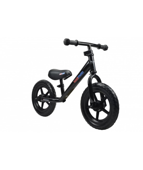 Bicicletă de echilibru Kiddimoto Super Junior Black