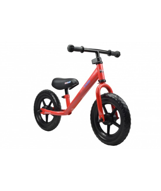 Bicicletă de echilibru Kiddimoto Super Junior Red