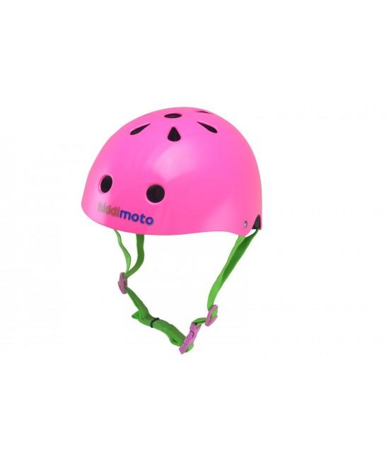 Cască de protecție Kiddimoto Neon Pink mărimea S