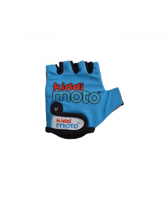 Mănuși de protecție Kiddimoto Blue mărimea M