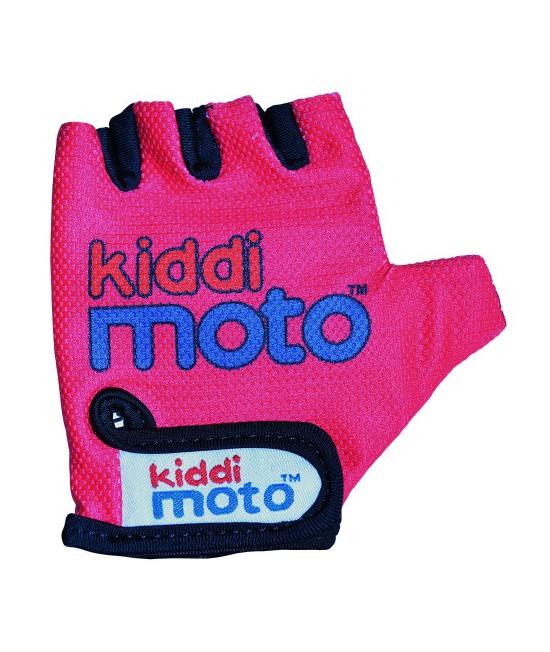 Mănuși de protecție Kiddimoto Neon Pink mărimea M