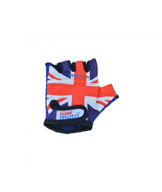 Mănuși de protecție Kiddimoto Union Jack mărimea S