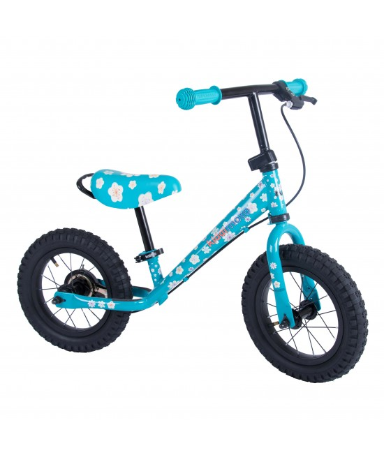 Bicicletă de echilibru Kiddimoto Super Junior Max Fleur