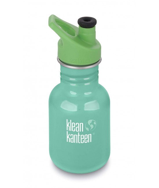 Recipient 355 ml Kid Classic Sport (Capac Green Sport) Sea Crest, Klean Kanteen